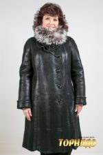 Женская дубленка. Артикул 19216.