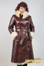 Женская дубленка. Артикул 19269.