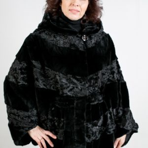 Женская шуба из норки. Артикул ШН-20384.