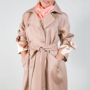 Женское пальто из кашемира. Артикул 16857-1.