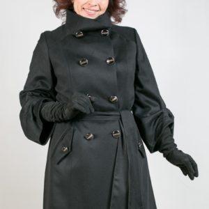 Женское пальто из кашемира. Артикул 20940.
