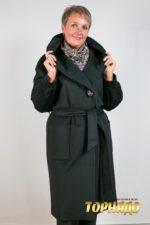 Женское пальто из кашемира. Артикул 21231.