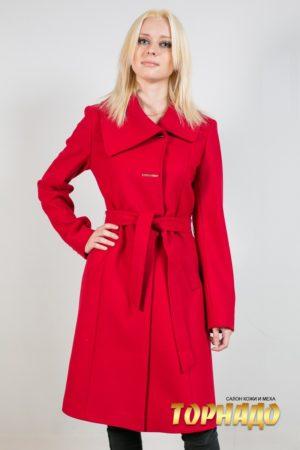 Женское пальто из кашемира. Артикул 21217.