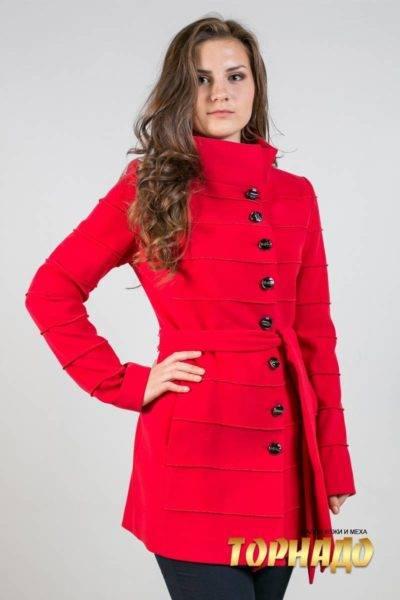 Женское пальто из кашемира. Артикул 21365.