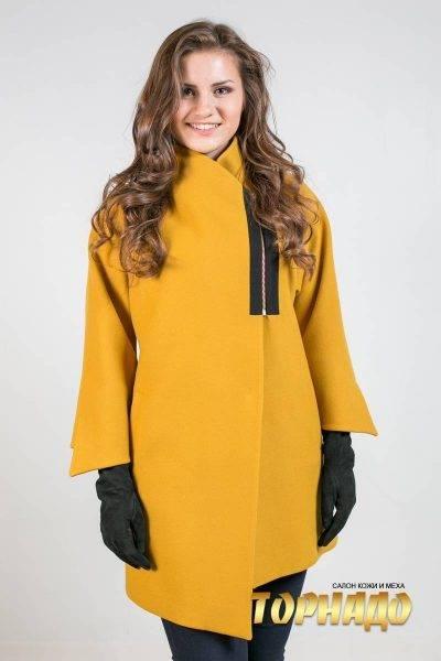 Женское пальто из кашемира. Артикул 21458-1.