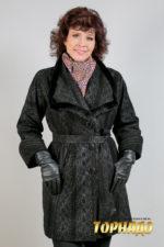 Женская кожаная куртка. Артикул 18352.