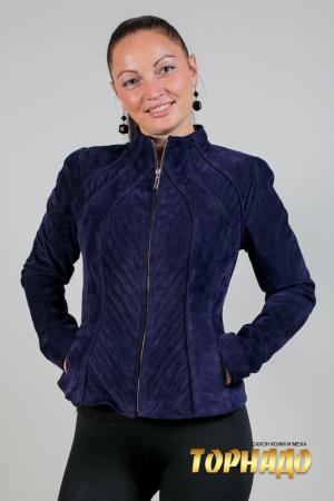 Женская кожаная куртка. Артикул 19951.