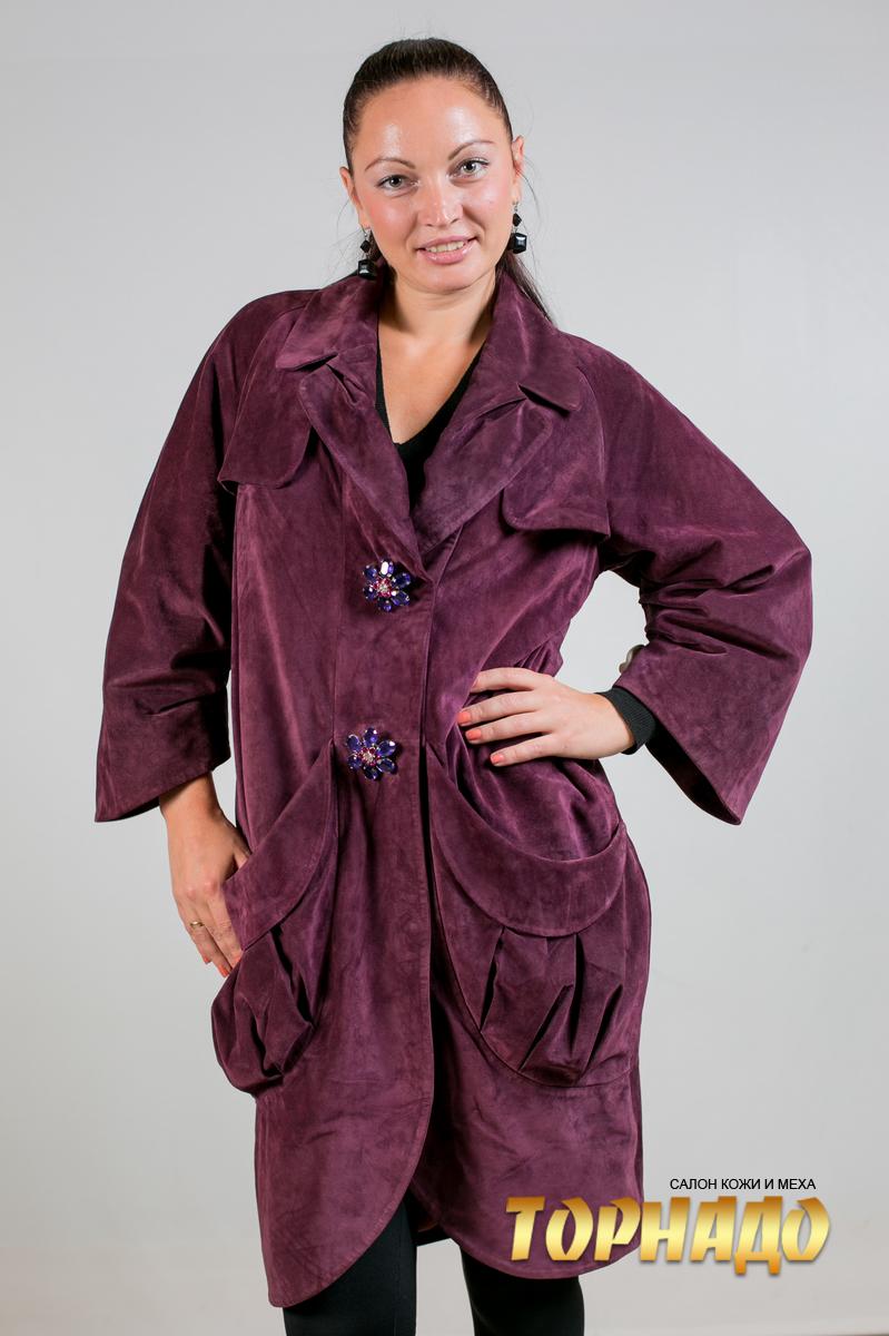 Женская кожаная куртка. Артикул 20041.