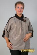 Женская кожаная куртка. Артикул 20105.
