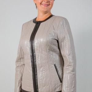 Женская кожаная куртка. Артикул 20109.