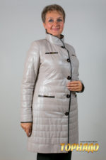Женская кожаная куртка. Артикул 20194.