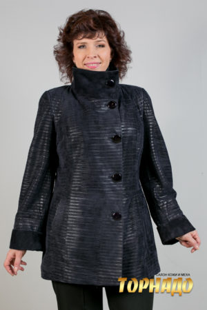 Женская кожаная куртка. Артикул 20199.