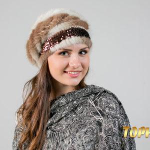 Женский головной убор. Артикул ГУ-12849.