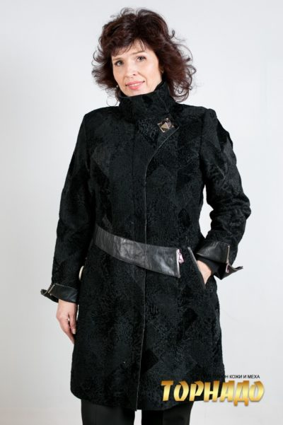 Женское меховое пальто. Артикул 18733.