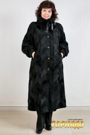 Женское меховое пальто. Артикул 21097.