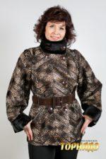 Женское меховое пальто. Артикул 21165.