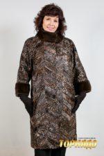 Женское меховое пальто. Артикул 21171.