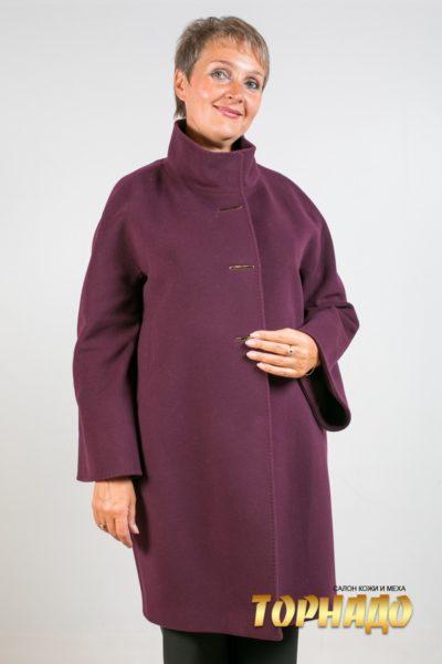 Женское пальто из кашемира. Артикул 21427.