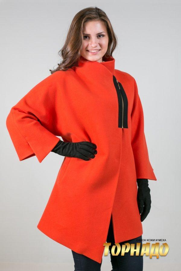 Женское пальто из кашемира. Артикул 21467.