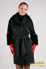 Женское пальто из кашемира. Артикул 22046.