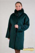 Женское пальто из кашемира. Артикул 22072.