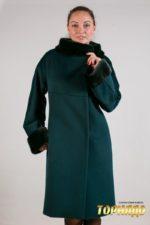 Женское пальто из кашемира. Артикул 22084.