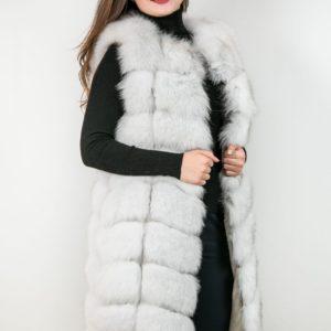 Женский меховой жакет из меха лисы. Артикул 22933.