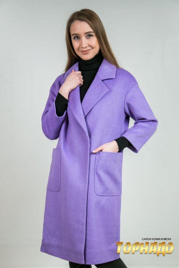 Женское пальто из кашемира. Артикул 23218.