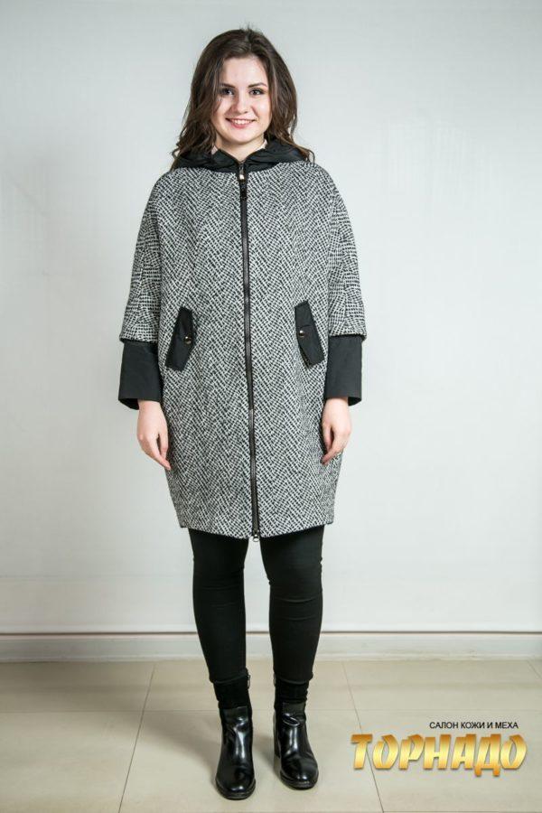 Женское пальто из кашемира. Артикул 23236.