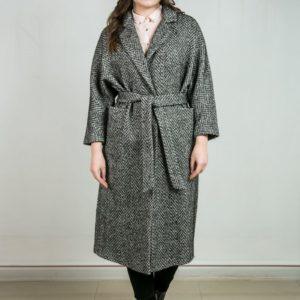 Женское пальто из кашемира. Артикул 23240.