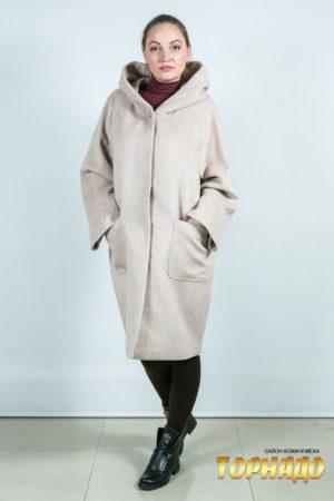 Женское пальто. Артикул 23660.
