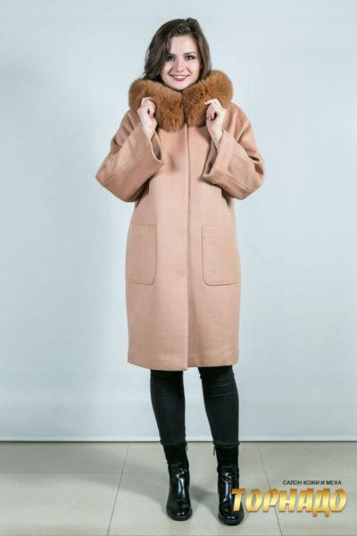 Женское пальто. Артикул 23775.